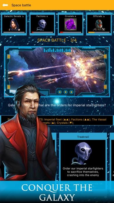 Galactic Emperor: Strategy RPG screenshot 1