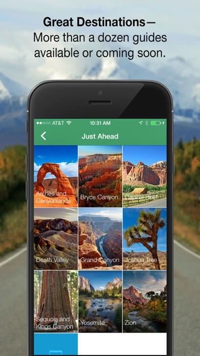 Just Ahead:Audio Travel Guides Screenshot