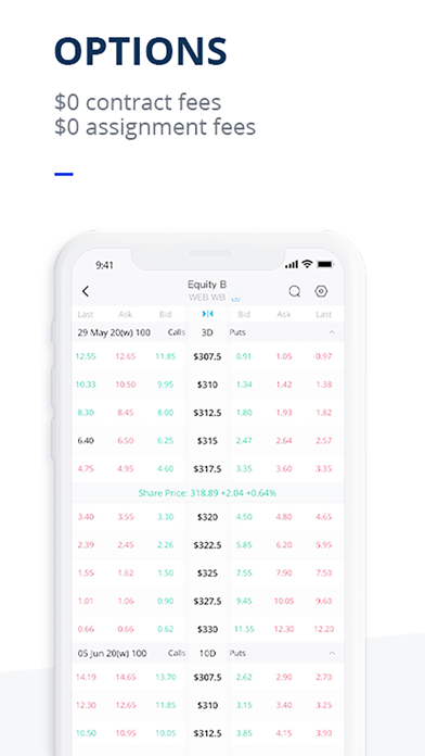 Webull: Stocks, Options & ETFs Screenshot