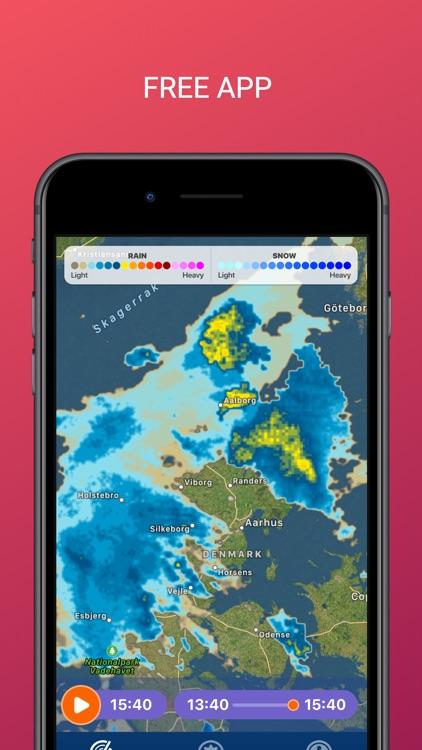 PocketRadar - my weather radar screenshot-5