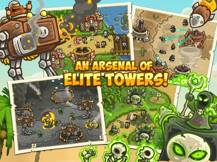 Kingdom Rush Frontiers HD screenshot-1
