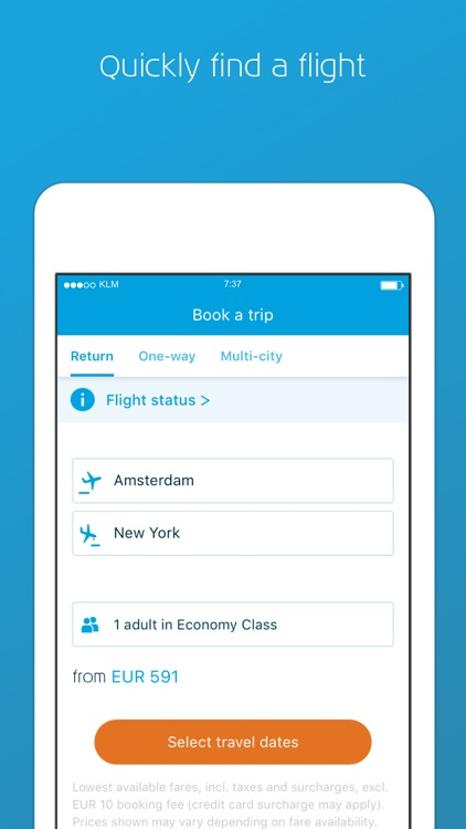 KLM screenshot-0