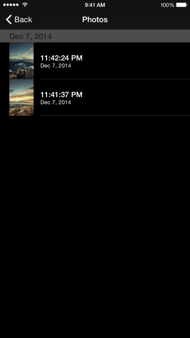 WiFi Camera - Remote iPhones Screenshots