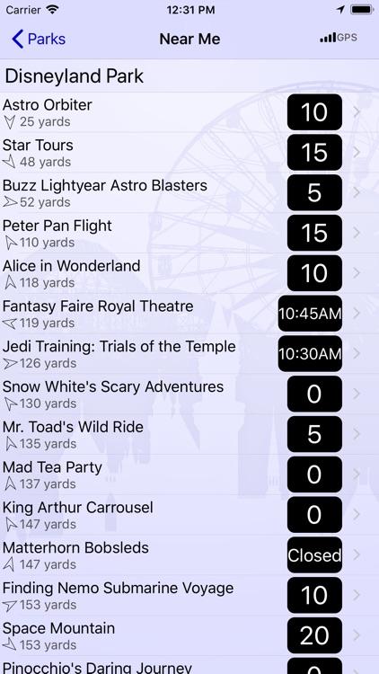 Wait Times for Disneyland screenshot-3