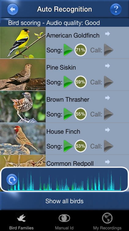 Bird Song Id USA songs & calls