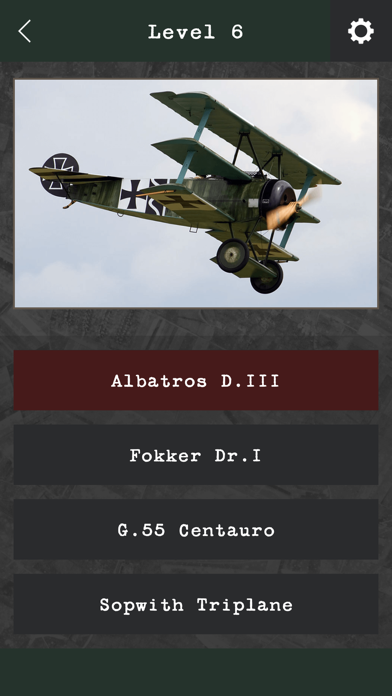Military Aviation Quiz screenshot two
