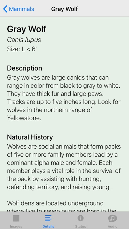 Yellowstone NP Field Guide screenshot-6