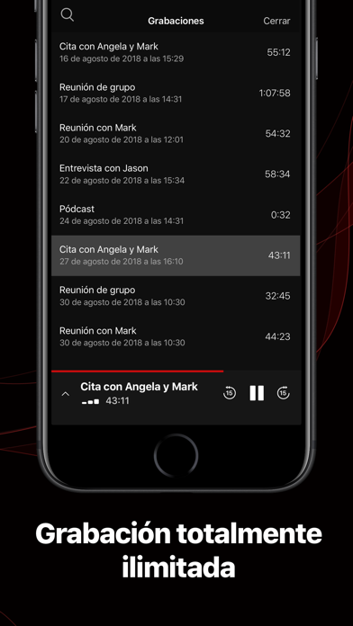 Screenshot for TapeACall Pro in Peru App Store