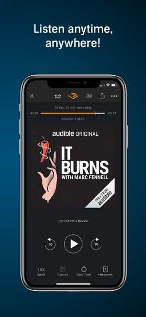 Audible - Audiobooks & Podcast on the App Store