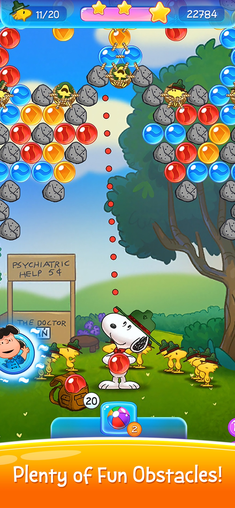 Bubble Shooter: Snoopy POP! hack tool