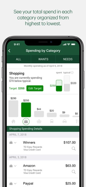 TD MySpend on the App Store