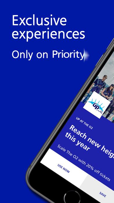 O2 Priority - UK app for perks screenshot one