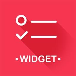 Widget Reminders