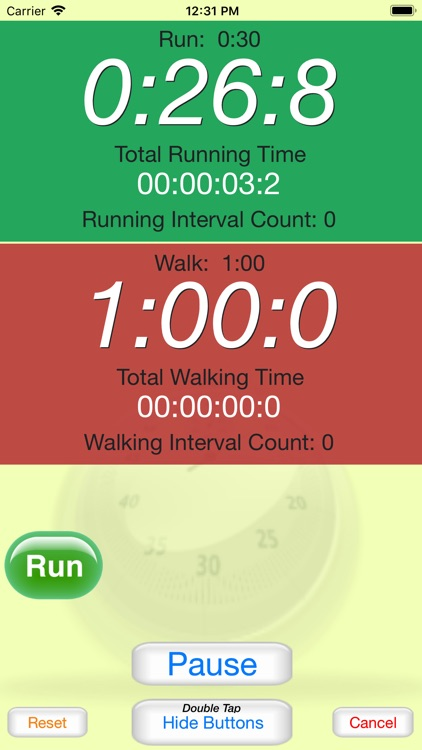 Running Interval Timer Pro