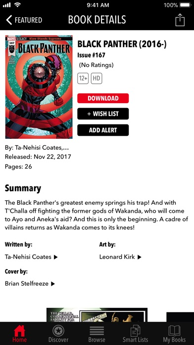 Screenshot for Marvel Comics in United States App Store