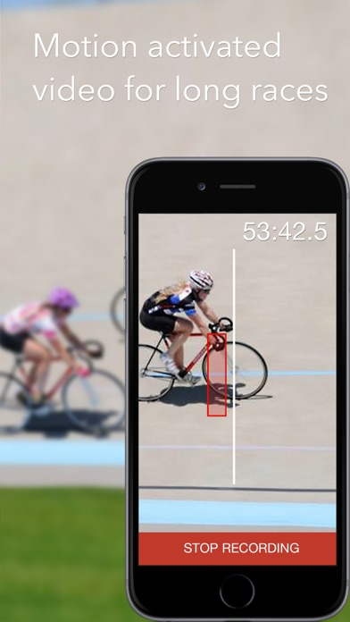 Screenshot for SprintTimer - Photo Finish in Italy App Store