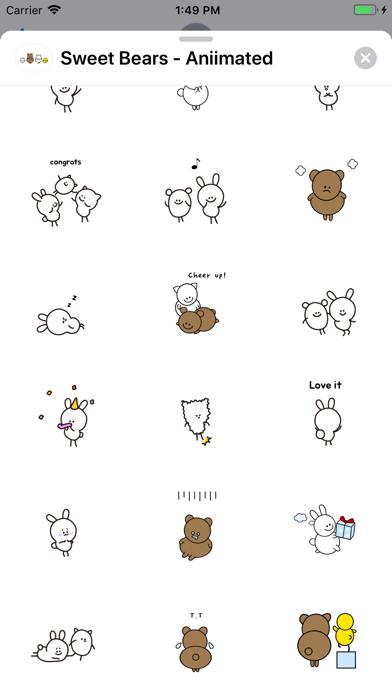 Sweet Bears - Aniimated screenshot 3