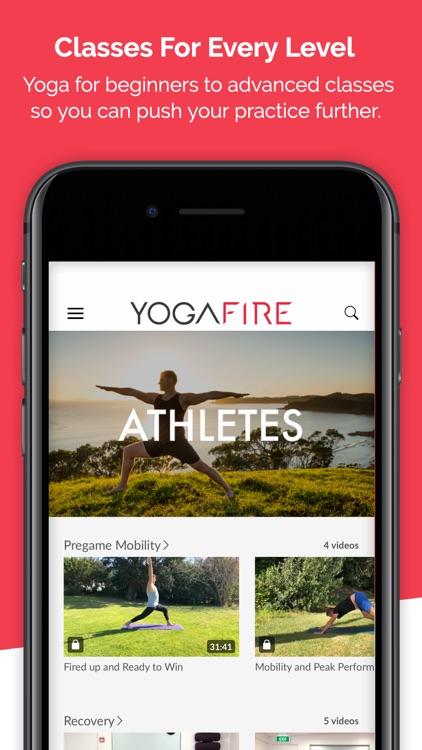 Yoga Fire by Tim Seutter