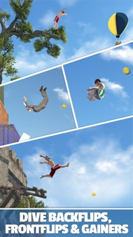 Flip Diving iphone images