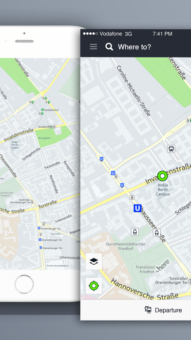 HERE Maps - Offline navigation, GPS, directions, traffic reports & transit tracker screenshot
