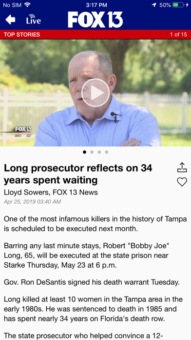 Fox 13 News Tampa Bay review screenshots