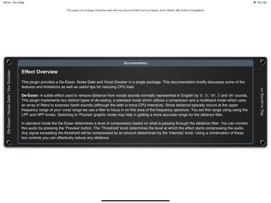 De-Esser AUv3 Audio Plugin screenshot 12