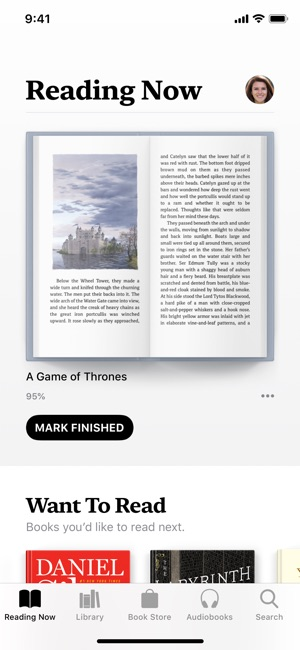 Apple Books Screenshot