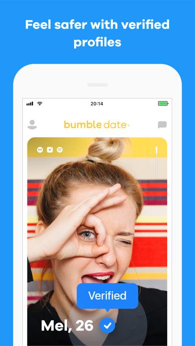 Screenshot of Bumble - Meet New People App