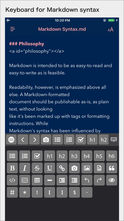 MWeb - Powerful Markdown App screenshot-3