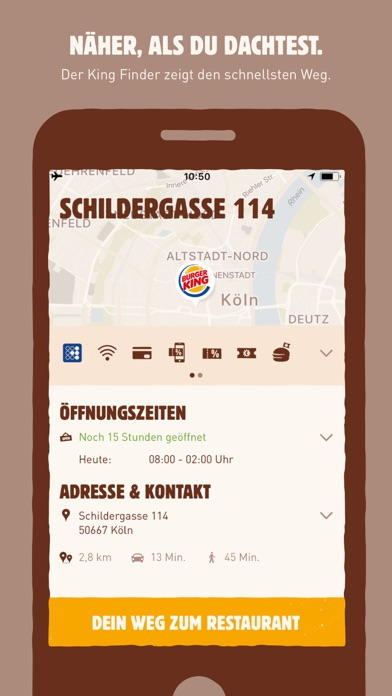 Screenshot for BURGER KING in Germany App Store