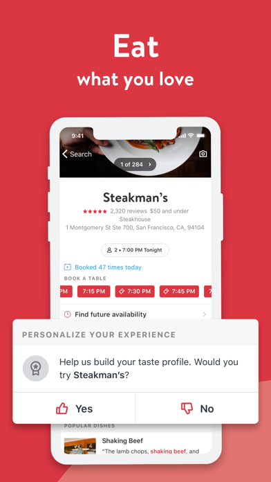 download OpenTable apps 1