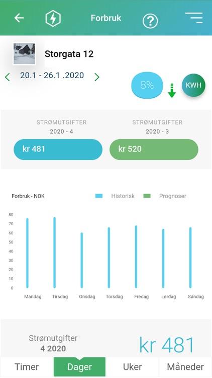 KRAFT-appen screenshot-4