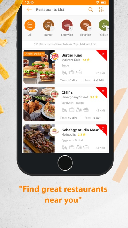 Akelni Food Delivery By