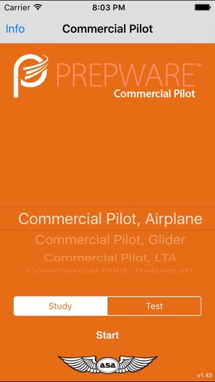 Prepware Commercial Pilot