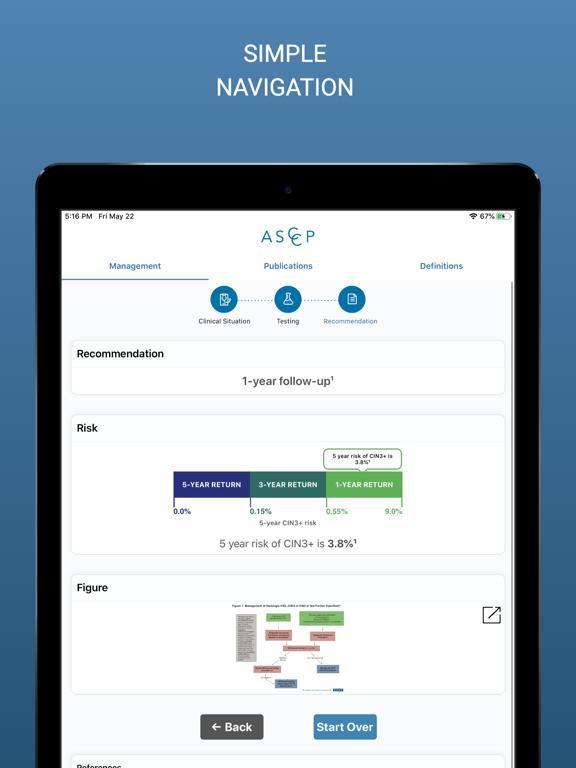ASCCP Management Guidelines screenshot 7