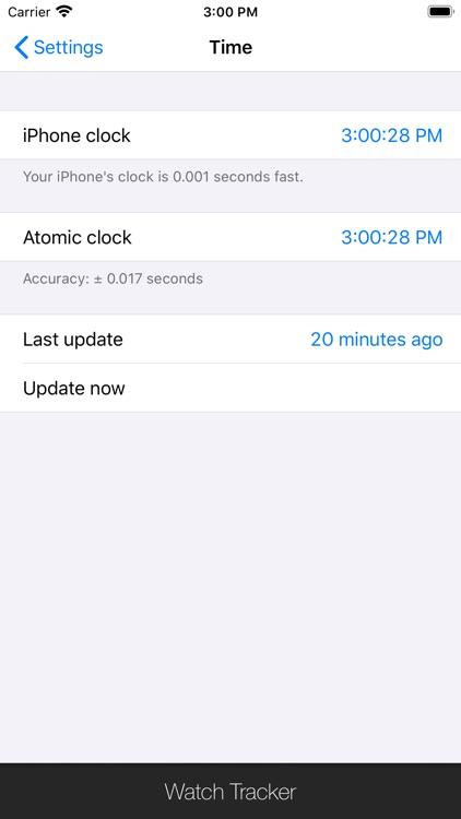 Watch Tracker screenshot-3