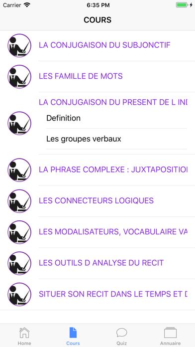 Français 5ème screenshot 5