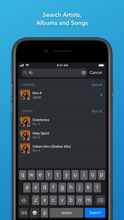 Doppler 1 — Music Player screenshot-3