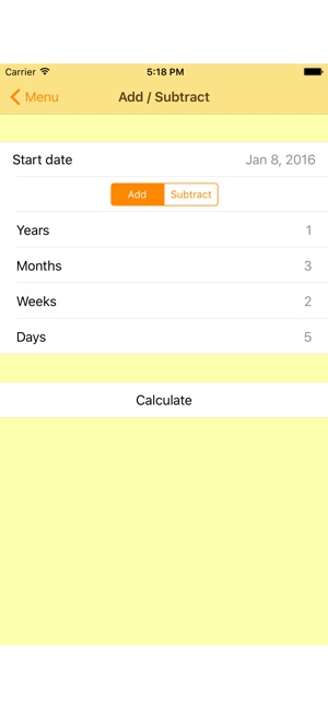 The Date Calculator PRO on the App Store