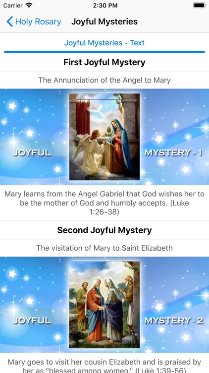 Holy Rosary With Audio & Text screenshot-3