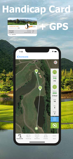 Golf Handicap Online Golf On The App Store