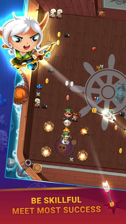 Snake Hero: Xenzia Battle screenshot-3