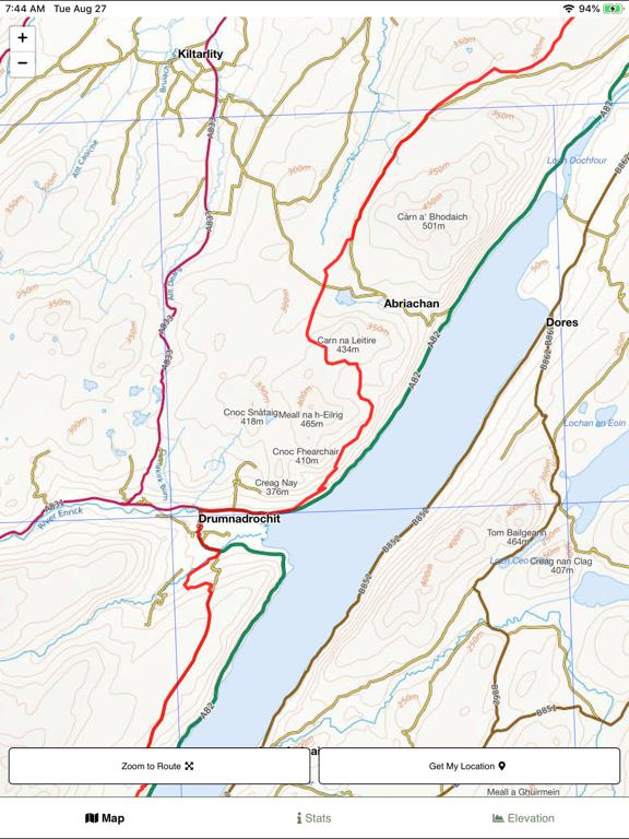 Great Glen Way Map screenshot 6