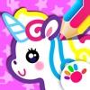 儿童画画游戏-学习画图! 3-6岁女孩的绘图绘画软件