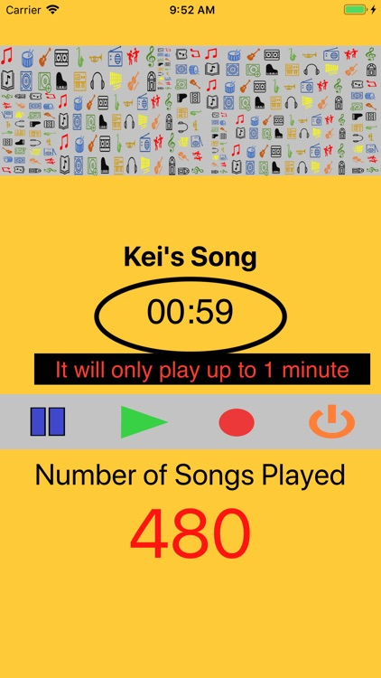 Minute Music Player