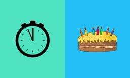 Birthday Countdown on TV