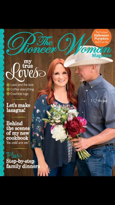 The Pioneer Woman Magazine US Screenshot
