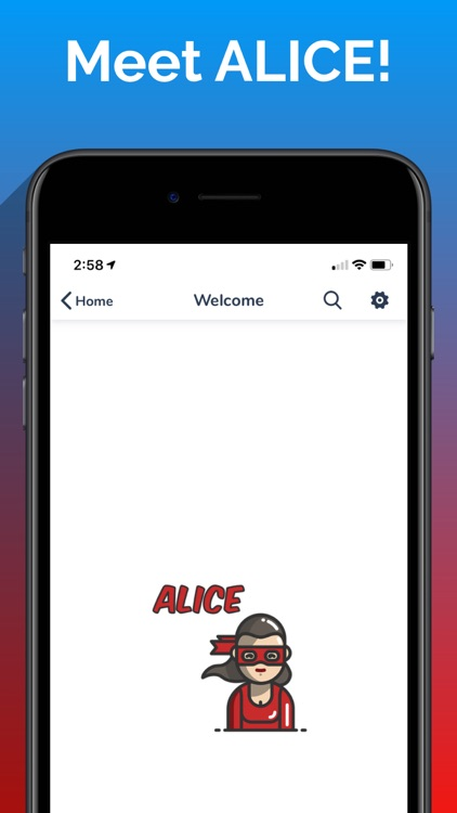 ALICE with ASL & Text