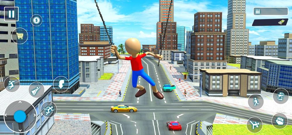 Stickman Rope Hero City Cheat Codes
