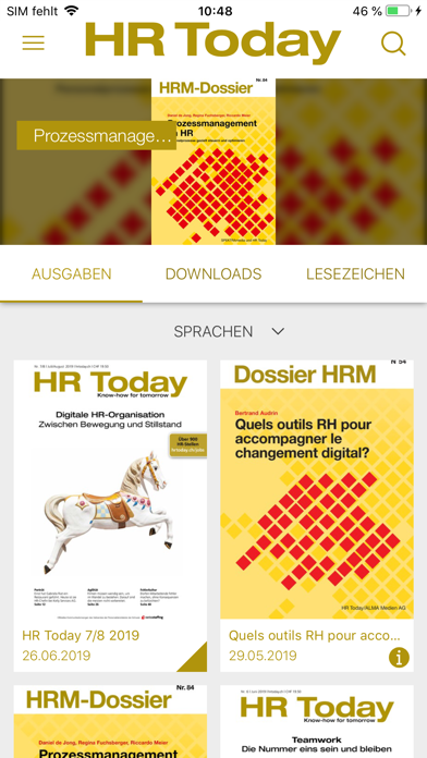 HR Today Magazin screenshot four